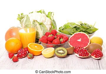 fruit and vegetable, vitamin c