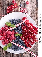fruit, baie