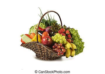 Fruit Basket Stock Photo Images 78 196 Fruit Basket Royalty Free