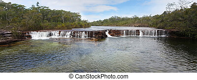 Fruit Bat Falls panorama