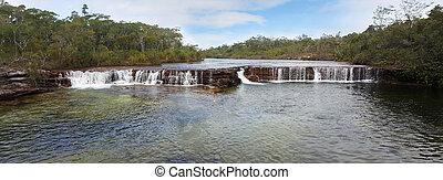 Fruit Bat Falls panorama