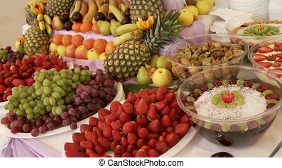 Fruit Buffet - Many Different Fruits