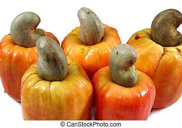 Fruit: cashew
