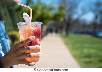 Fruit Cup of Lemonade