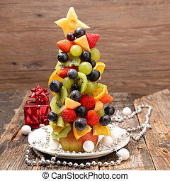 fruit decoration for christmas