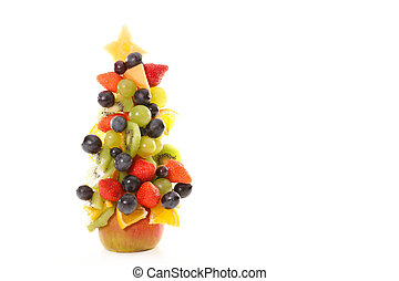 fruit dessert for christmas