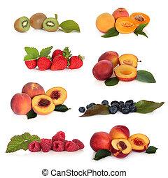 fruit, doux, collection