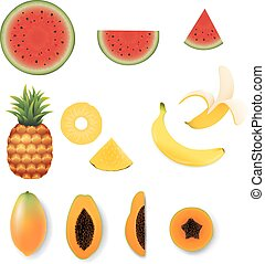 fruit, ensemble