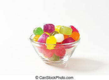 Fruit Flavored Hard Candy - Fruit flavored hard candy drops