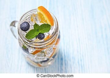 Fruit Flavored Water - Naturally Flavored Fruit Water with...