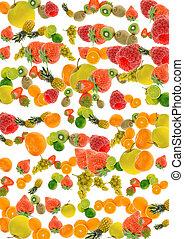 fruit, fond