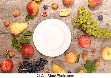fruit frais, assorti