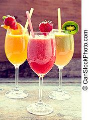 fruit frais, jus