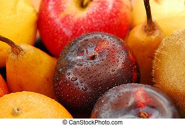 fruit, frais, sélection
