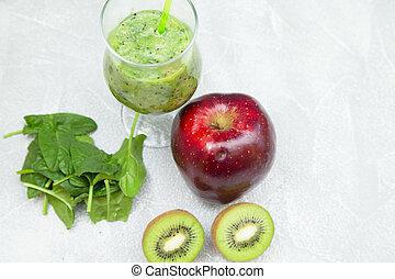 fruit frais, smoothie