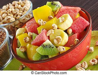 fruit, fris, slaatje