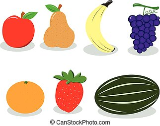 fruit, groupe
