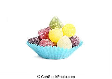 fruit gums cupcake