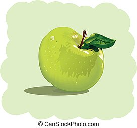 fruit, illustration