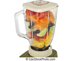 Fruit in the Blender