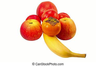 Fruit in the form of a flower