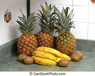 Fruit in the kitchen