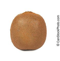 fruit., isolé, blanc, arrière-plan., kiwi