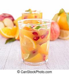 fruit juice, cocktail