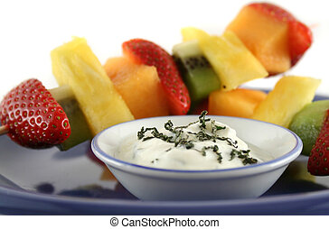 Fruit Kebabs 1