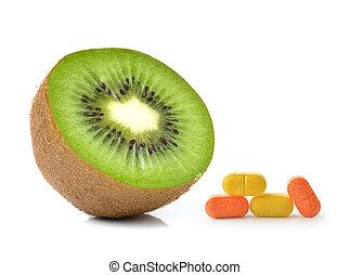 c vitamine isol coup fruit surcharge blanc piles. Black Bedroom Furniture Sets. Home Design Ideas