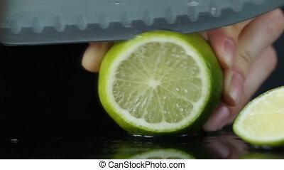 fruit, lemon, food, citrus, fresh, juice, motion, water,...