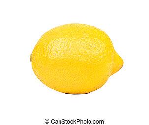 Fruit lemon isolated