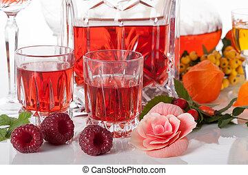 fruit, liqueurs