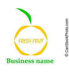 Fruit logo.