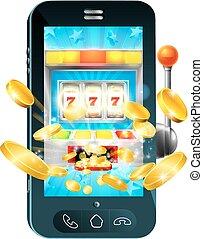 Fruit Machine Mobile Phone Concept