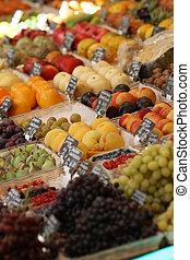 fruit, marché