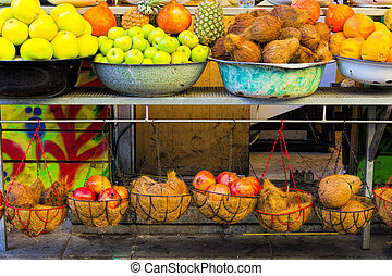 Fruit Market in Israel.