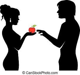 fruit, mensen, verboden