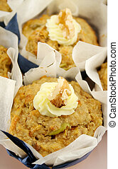 Fruit Muffins With Walnuts 2