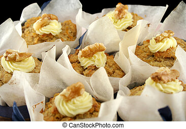 Fruit Muffins With Walnuts 3