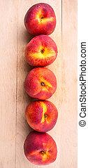 fruit, nectarine