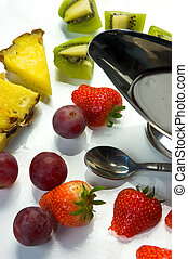 Fruit on a plate