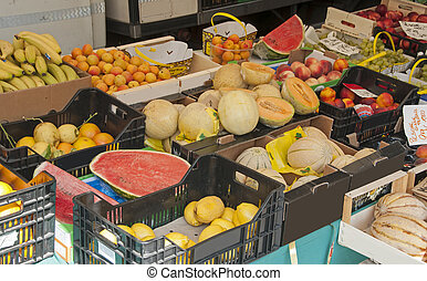 fruit on the market