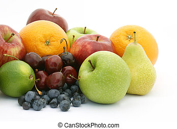 Fruit - Display of various fruits and berries