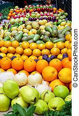 Fruit pile