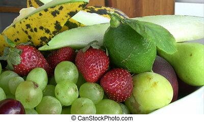 fruit plaat