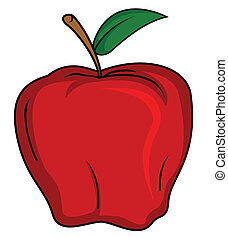 fruit, pomme