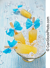 fruit, popsicle, glace
