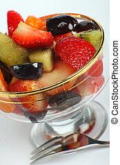 Fruit salad angled