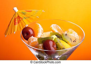 Fruit Salad Closeup